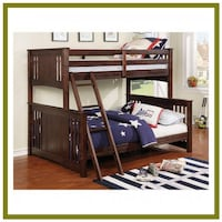 Bunk Beds Twin Over Full - $849 / $10 Down Littleton