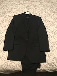 Black Pinstripe Suit Houston, 77019