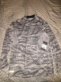 Gray pull over jacket Fairview, 07022
