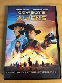 Cowboys & aliens dvd Chaska, 55318