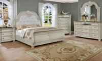 Brand New☆4 Piece Antique White Color Bedroom Set☆39$ Down Payment Linthicum Heights, 21090