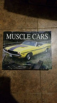 yellow Muscle Car poster Chantilly, 20151