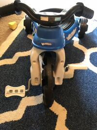 toddler's blue, white, and black plastic toy trike Roswell, 30076