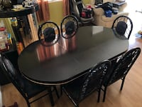 7 Piece Extended Dining Table Set Las Vegas, 89148