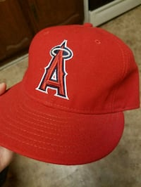 LA Angels fitted 7 1/2 cap