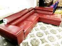LEATHER SECTIONAL WITH ADJUSTABLE HEADRESTS!! Coppell, 75019
