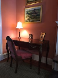 brown wooden desk with padded chair Richmond, 23220