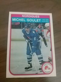 1982 Michel Goulet card 3125 km