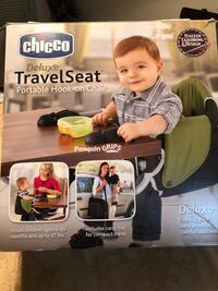 Chicco deluxe travel seat. Portable hook-on chair Surrey, V3W