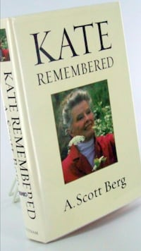 Kate Remembered novel book by A. Scott Berg