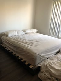 King Size Bed with frame