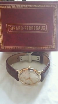 GIRARD PERREGAUX Solid Gold WATCH Aurora, L4G 7Y2