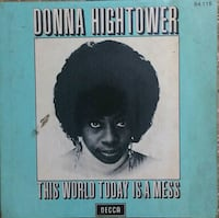 """DONNA HIGHTOWER """"This World Today is a Mess"""" İçerenköy, 34752"""