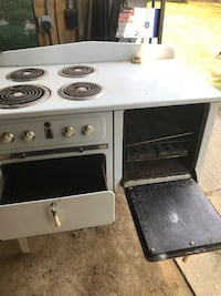 Vintage 1950s electric stove