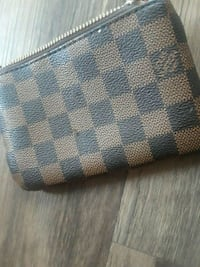 blue and brown Louis Vuitton leather wallet Los Angeles, 91406