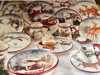 16 Piece Holiday Dinnerware Set Laguna Niguel, 92677