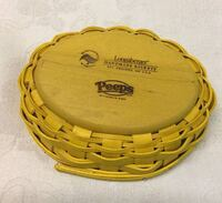 Longaberger Peeps Basket, Top and Protector Leesburg, 20175