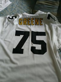 white and black NFL jersey Oakland, 94603