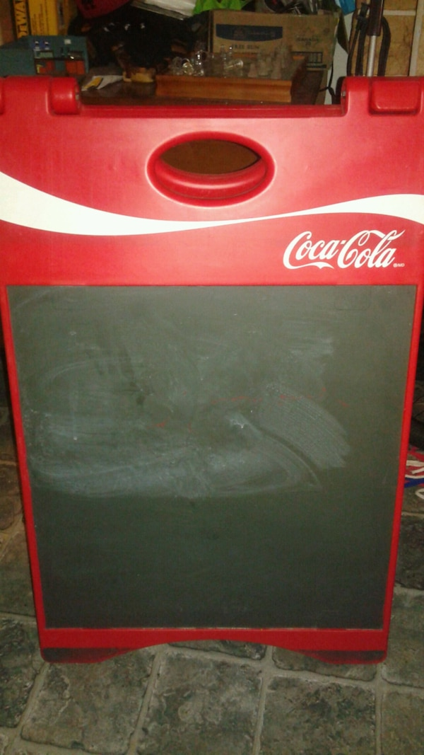 Coca-Cola Display/Advertising Board 1