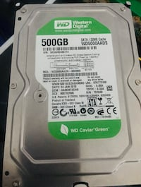 Western digital 500GB hard drive  多伦多, M2J