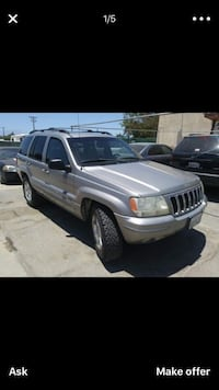 Jeep - Cherokee - 2001 Thermal, 92274
