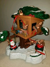 Animated Musical Santa's Hide Away by Maisto 1997 Complete In Original Indianapolis, 46214