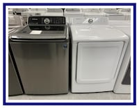 Samsung washer (Gray) and a (white) dryer Charlotte