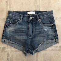 GRG dark denim shorts - sz 3 Edmonton, T6V 1S7