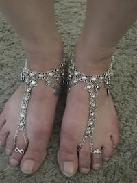 New coined feet/footwear to the beach or ur liking boho/gypsy style New Bedford, 02740
