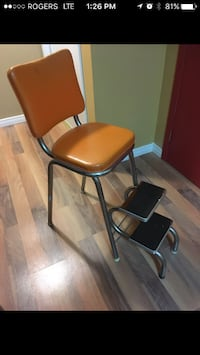 Chair and stepstool
