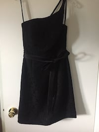 black lace one shoulder dress Surrey, V3S 0M8