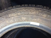4 studded tires- need to go ASAP! Burnaby, V5G 2H1