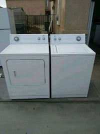white washer and dryer set Lancaster, 93535