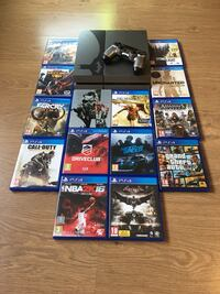 Playstation 4 Batman Limited Edition Console Bundle With lots of Games Warrington, WA4 1QB