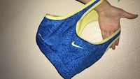 women's blue and yellow Nike sports bra Tucson, 85710