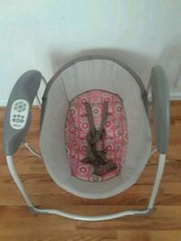 baby's gray and red swing chair Laurel, 20708