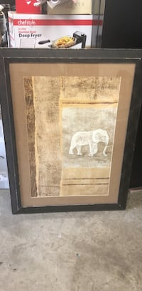 elephant picture frame  Mission, 78574