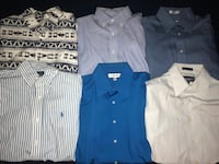 Six assorted color button ups  Whittier, 90601