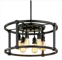 Home Decorators Collection Romaro Row 6-Light Aged Houston, 77096