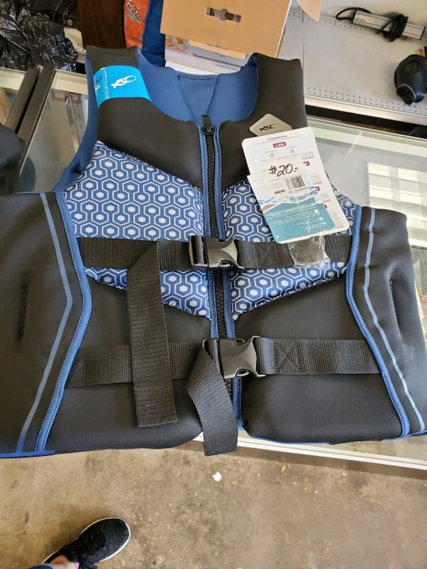 New, life jacket vests, $20 Each a3071736-3031-4d86-8fdc-dbd5d639884f