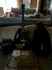 black and brown electric guitar Calgary, T3J 3Y6