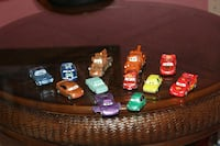 assorted Cars Character toy collection