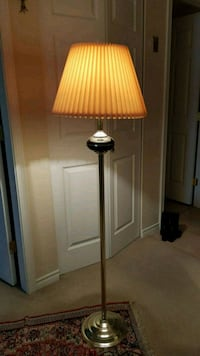 brown and white floor lamp Langley, V3A 7E9