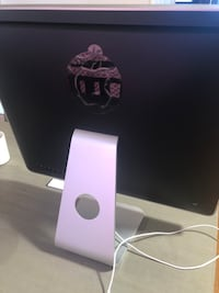 Silver imac with apple magic keyboard and magic mouse 6 km