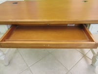 large desk/table, 3 drawers or computer keyboard tray MONROE
