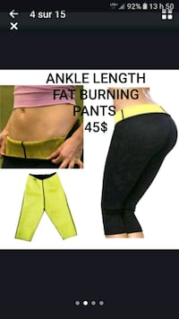 ANKLE LENGTH FAT BURNING PANTS  Montréal, H1S 1N8