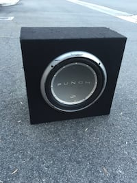 "ROCKFORD FOSGATE 12"" SUBWOOFER + JL AUDIO AMP + SEALED BOX ($275) Glendale, 91204"