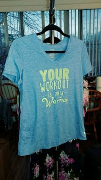 Your workout is my warm-up shirt medium  Alexandria, 22304