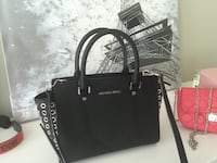 michael kors black leather limited edition