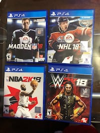 PS4 Games $60 for the lot/$17 individually  Hilliard, 43026